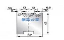 37-46双V折弯模具